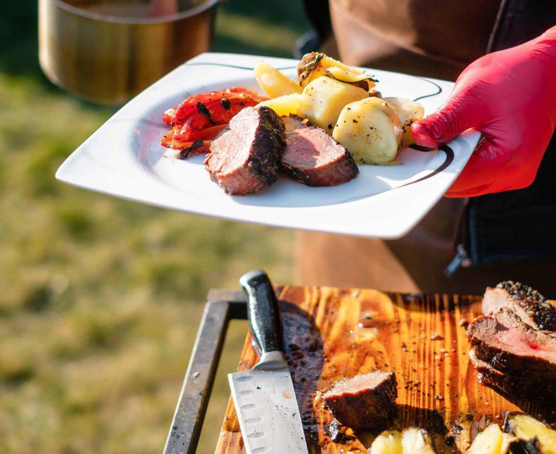BBQ vlees thuis bbq organiseren