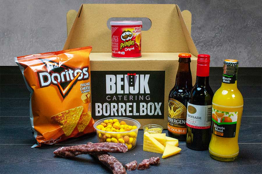 borrelpakket kopen en laten bezorgen aan huis Proost