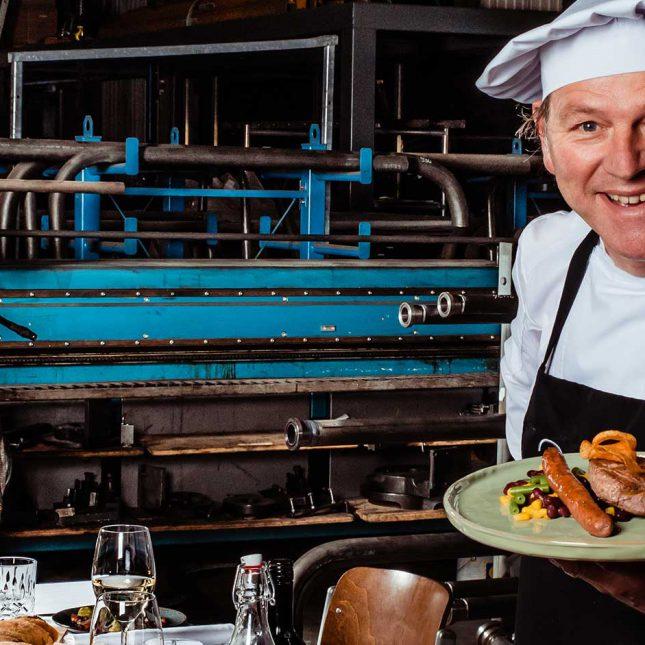 Catering Friesland Leeuwarden tijdens Fuerza Bruta