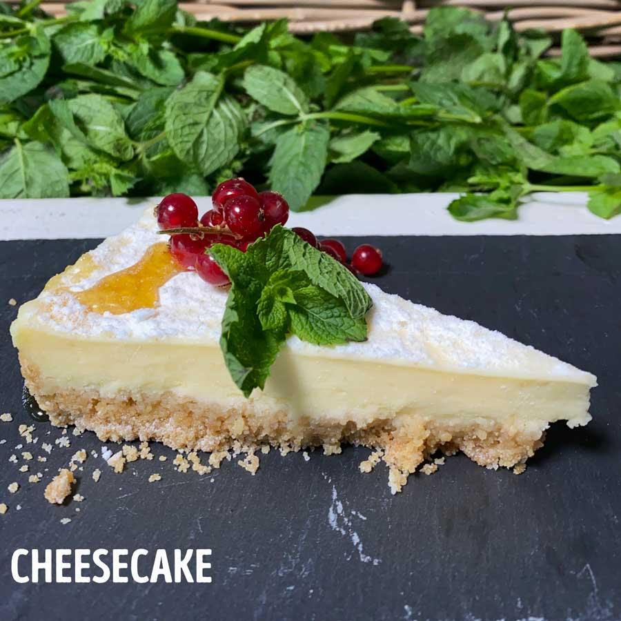 cheesecake dessert toetje