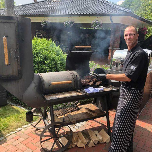 luxe bbq aan huis met kok bestellen catering Groningen