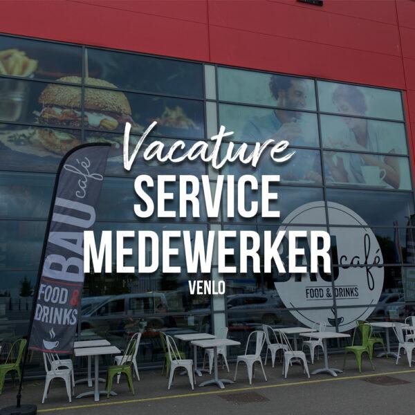 Vacature Servicemedewerker Venlo