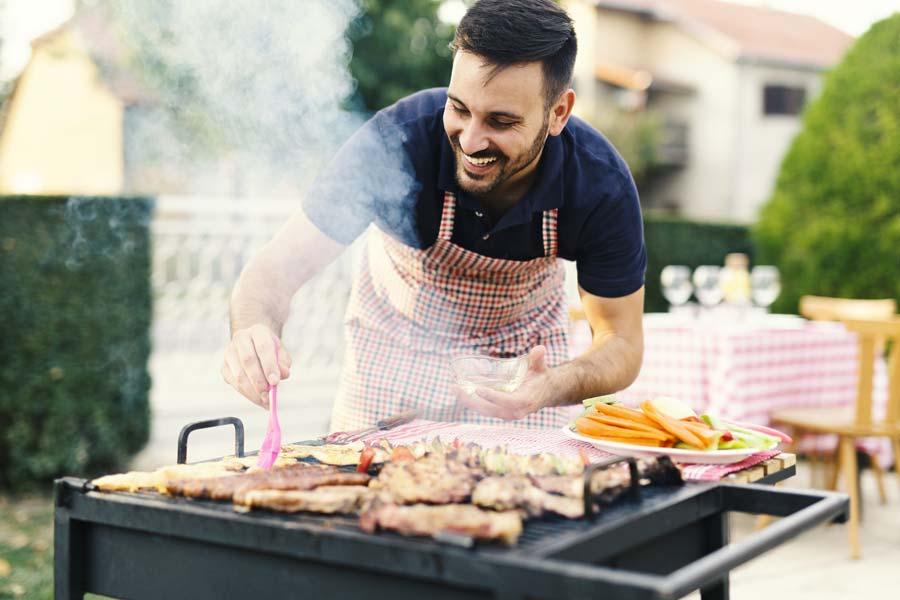 barbecuepakketten met vlees, vis of vega