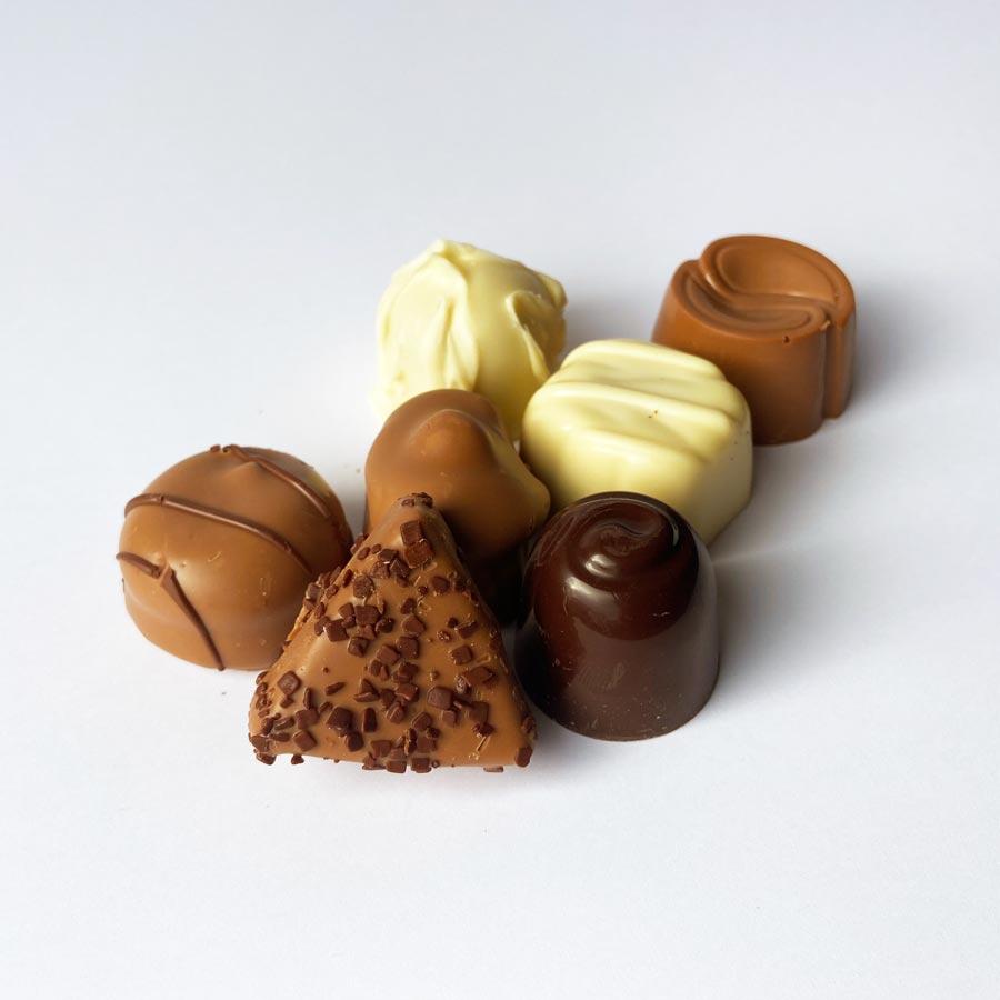 bonbons dessert voor thuis