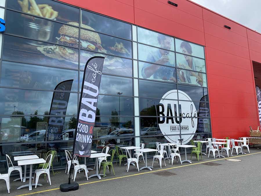 bauhaus Groningen restaurant Baucafe
