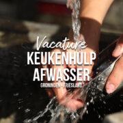 keukenhulp afwasser