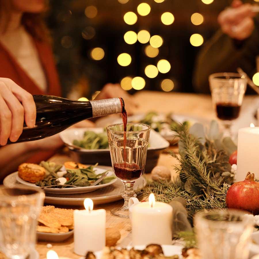 luxe kerstarrangementen catering