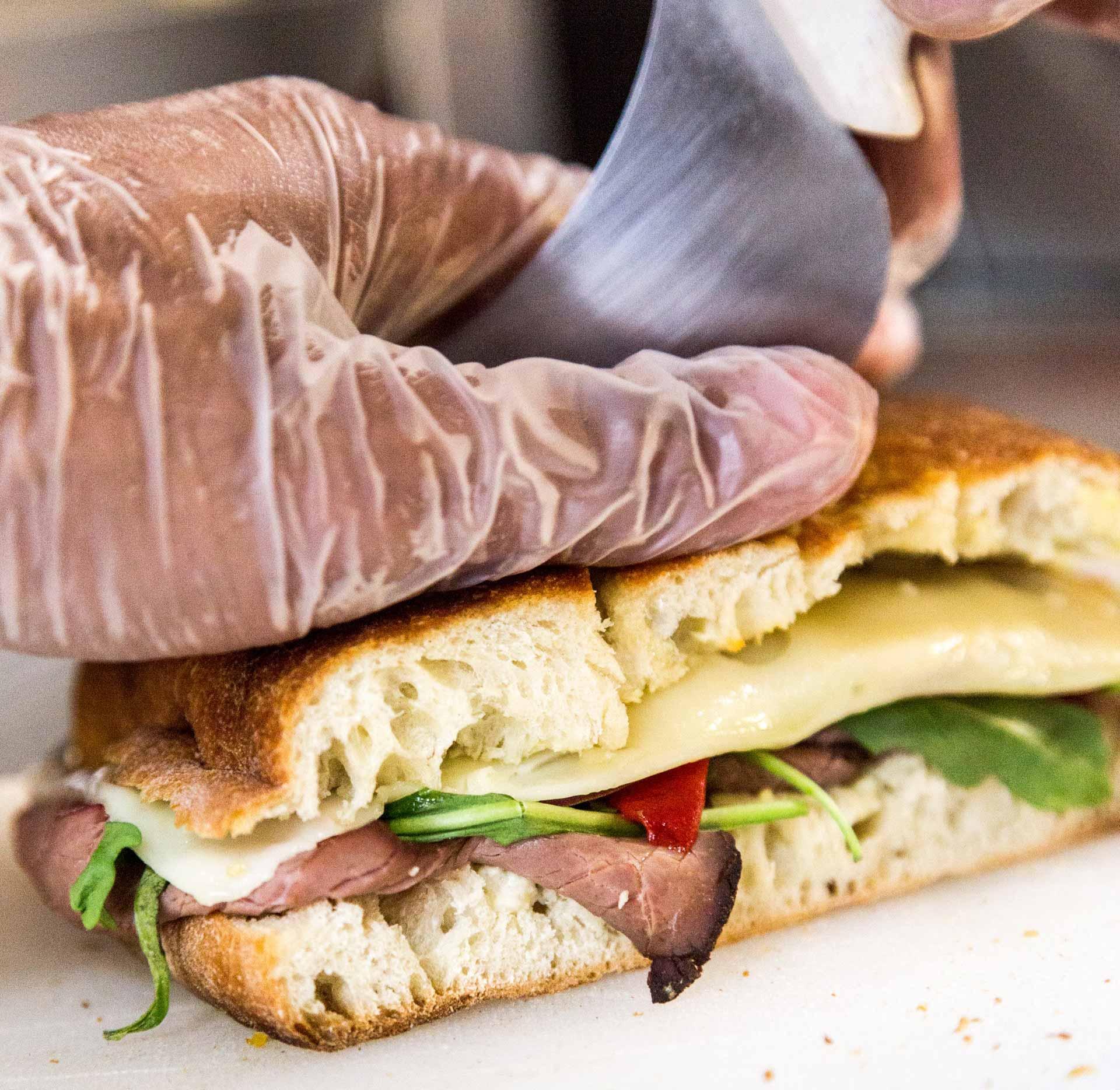 sandwich lunchpakket laten bezorgen